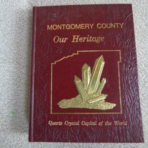 RARE Historical Montgomery County crystal book